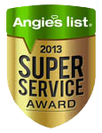 Angie's List Super Service Award 2012 & 2013